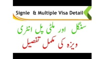 Multiple and single Entry Visa Complete Detail