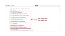 Quảng cáo Google Adwords là gì? Cách tối ưu quảng cáo Adwords