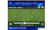 Phần mềm xem K+1 trên iPhone 5 5s trực tiếp bóng đá