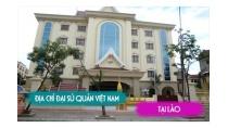 Địa chỉ đại sứ quán Việt Nam tại Lào