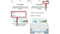 Đăng nhập ID Apple, vào Apple ID trên iPhone
