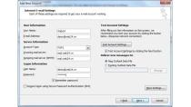 Hướng dẫn cài đặt mail trên Microsoft Outlook 2010