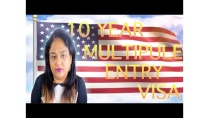USA 10 years multiple entry visa B1/B2