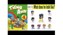 Tiếng Anh Lớp 4: UNIT 14 WHAT DOES HE LOOK LIKE - FullHD 1080P