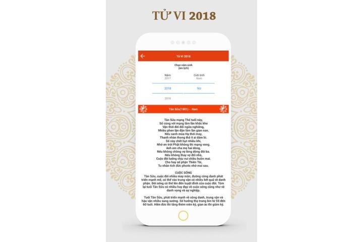 Tử vi 2018 - Tử vi trọn đời - Tử vi khoa học for Android - APK Download