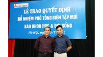 Ông Đặng Vương Hạnh làm phó Tổng biên tập Báo Khoa học & Đời sống ...