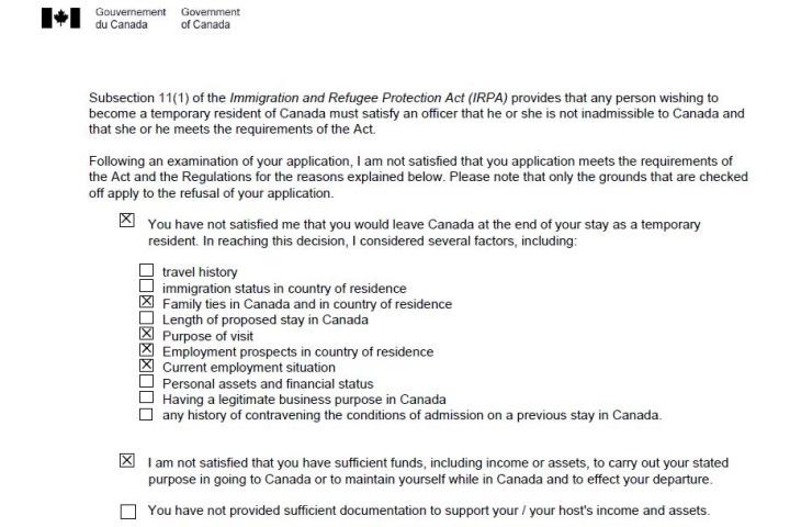 canada student visa refusal forum