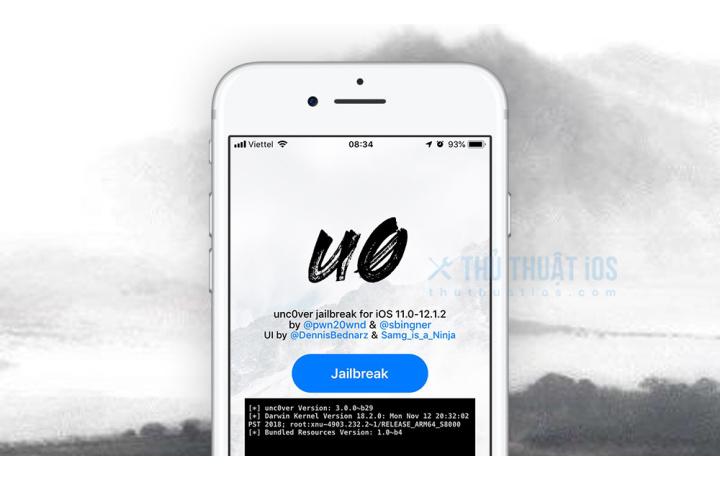 Hướng dẫn jailbreak iOS 12.0 - 12.1.2 bằng unc0ver có Cydia - Thủ ...
