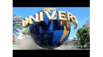 Travel from MRT train to Universal Studios Singapore