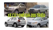 Xe ô tô cũ 7 chỗ giá rẻ đang rao bán giá 200 triệu tại VN | Tin Xe ...