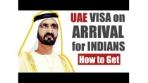 UAE Visa On Arrival for Indian Passport Holders | Visa on Arrival for Indians