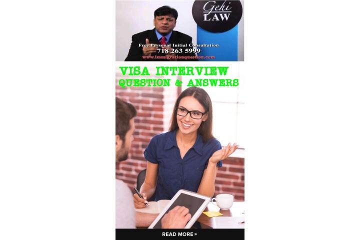 f4 immigration visa interview questions