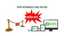 Thiết kế website theo yêu cầu MIỄN PHÍ - Jweb.vn