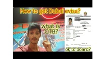 How to get Dubai visa for Indians.
