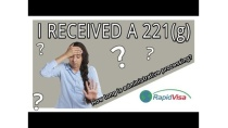 All About 221(g) form , Administrative processing, US VISA approved