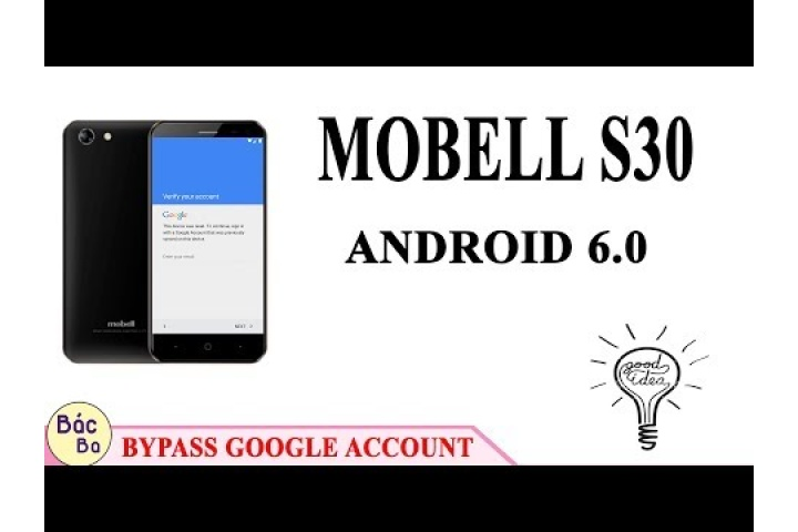 Video Bypass FRP Google Account Mobell S30 Android 6 0 | October 18