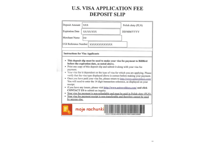 non immigrant visa fee for usa in india