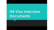 H1b Stamping at the US Consulate - Documents Required & Tips