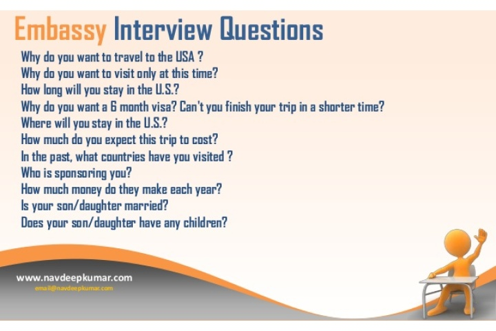 immigrant visa interview questions for siblings