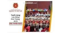 Tuyển dụng Nhân viên bảo vệ nội bộ trường Quốc Tế Việt Úc (VAS) - TP ...