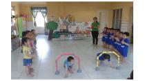 Hoạt động giáo dục thể chất cho trẻ mẫu giáo lớn