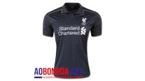 Áo bóng đá Liverpool đen sân khách thứ ba 2015 2016