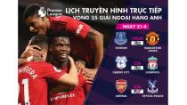 Trực tiếp bóng đá châu Âu 21-4: Arsenal, M.U và Liverpool xuất trận ...