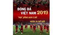 """Bóng đá Việt Nam 2019: Vua"""" Đông Nam Á mơ vươn xa thế giới-Bóng đá 24h"""