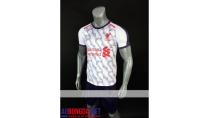 Áo Bóng Đá Liverpool trắng mùa giải 2018-2019