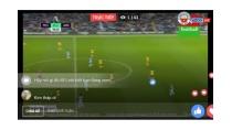 Xu hướng phát trực tiếp các trận bóng đá trên Facebook hiện nay ...