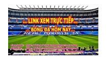 Link Xem Trực Tiếp Bóng Đá Cúp C1 Châu Âu - YouTube