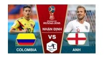Xem trực tiếp World Cup 2018: Colombia vs Anh 01h 04/07