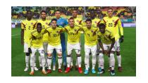 Đội hình chính thức đội tuyển bóng đá Colombia World Cup 2018