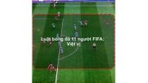 Luật bóng đá 11 người FIFA: Việt vị | Học đá bóng - Kỹ thuật đá bóng ...