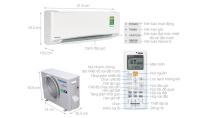 Máy lạnh Panasonic Inverter 1 HP CU/CS-XU9UKH-8 - Điện máy XANH 05/2019