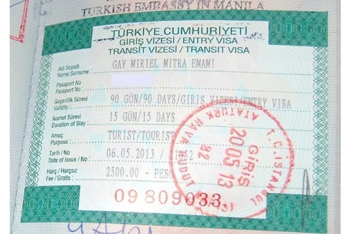 turkey transit visa for bangladeshi