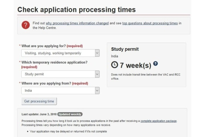 student dependent visa australia processing time 2018 from india