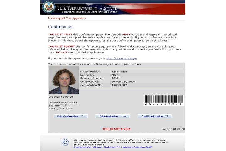 Us Embassy Visa Application Form Pdf idea gallery