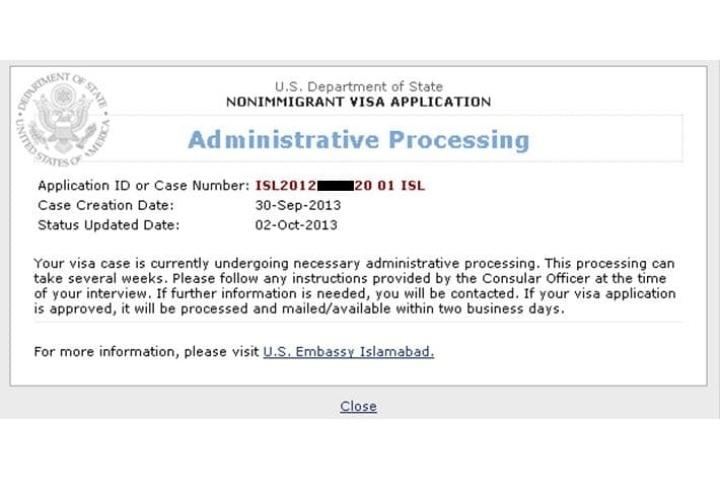 Administrative Processing Us Visa 2019