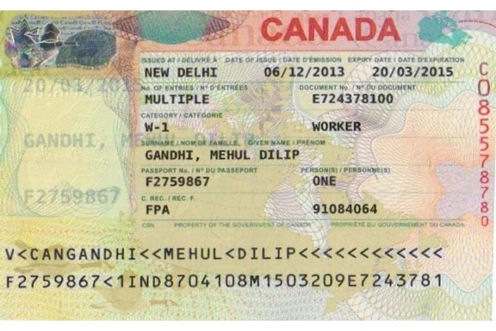 canada visitor visa fees in indian rupees