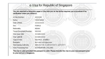 Singapore Visa - Singapore Visa For Indians Online at Rs.1,449/-