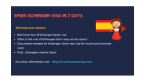 Spain Schengen visa in 7 days (Updated 2019)