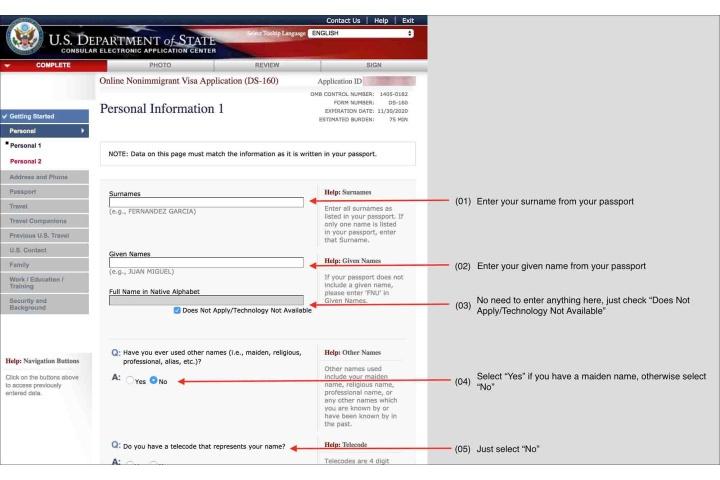 us visitor visa application form india pdf