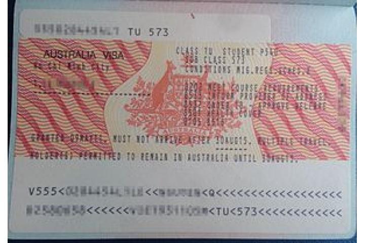 Australia Tourist Visa From India