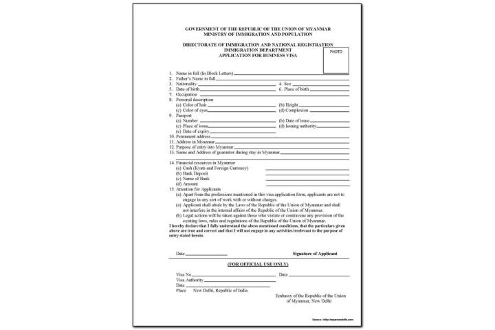 Australian Tourist Visa Application Form From India
