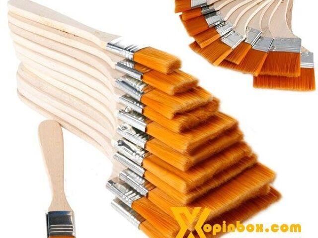 Panh xô lông vàng cán gỗ