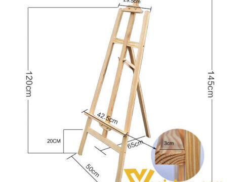 Giá vẽ gỗ gấp gọn 1.5m