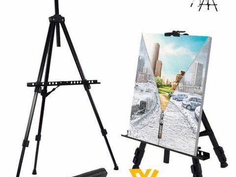 Giá vẽ kim loại- Giá vẽ tranh- Giá đỡ Tripod