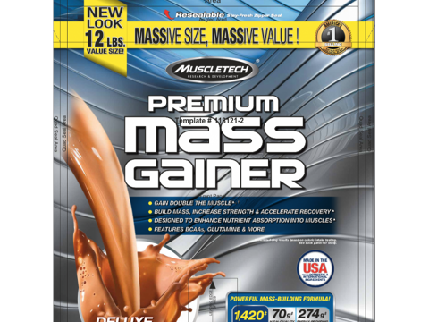 Premium Mass Gainer 12lbs ( Muscle Tech)