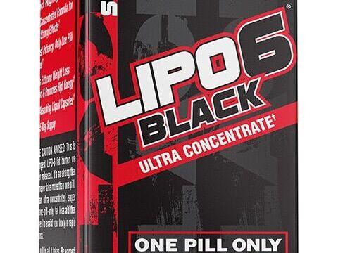 Lipo 6 black (60 viên)